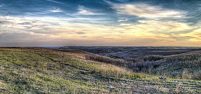 Konza Prairie Photograph - Konza Prairie by Corey Cassaw