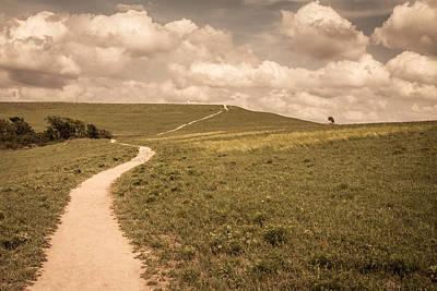 Konza Prairie Photograph - Konza Prairie by Scott Rackers