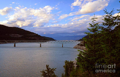 Photograph - 814a Koocanusa Bridge Montana by NightVisions