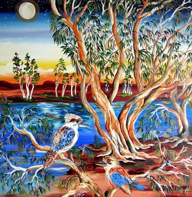 Kookaburra In The Moonshine Original