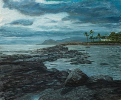 Painting - Ko'olina Afternoon by Michael Allen Wolfe