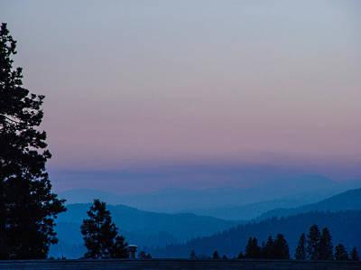 Sunset Photograph - Kootenai Sunset by David Mortenson