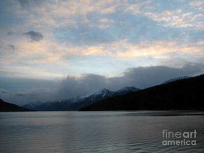 Photograph - Kootenay Lake December Sunset by Leone Lund