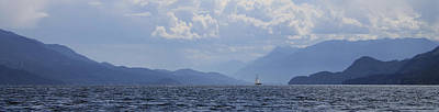 Photograph - Kootenay Sail by Cathie Douglas
