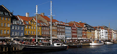 Photograph - Kopenhavn De Ny Havn 05 Pan by Jeff Brunton