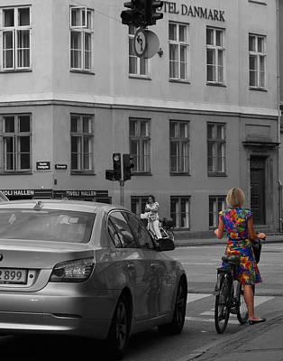 Photograph - Kopenhavn Denmark 80 by Jeff Brunton