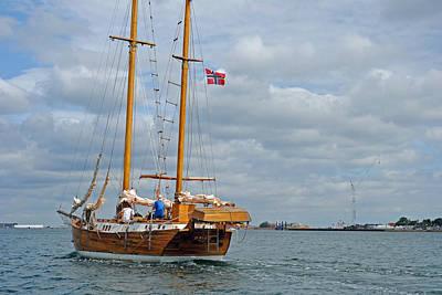 Photograph - Kopenhavn Denmark Canal Boat Tour 10 by Jeff Brunton