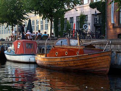 Photograph - Kopenhavn Denmark Canal Boat Tour 43 by Jeff Brunton