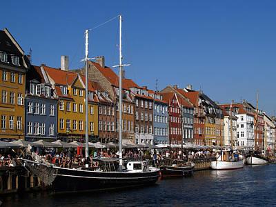 Photograph - Kopenhavn Denmark Ny Havn 05 by Jeff Brunton