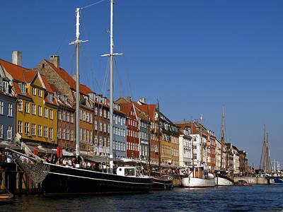 Photograph - Kopenhavn Denmark Ny Havn 06 by Jeff Brunton