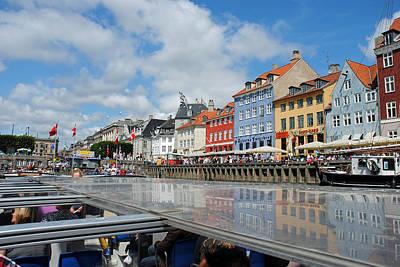 Photograph - Kopenhavn Denmark Ny Havn 12 by Jeff Brunton