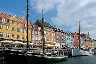 Photograph - Kopenhavn Denmark Ny Havn 16 by Jeff Brunton