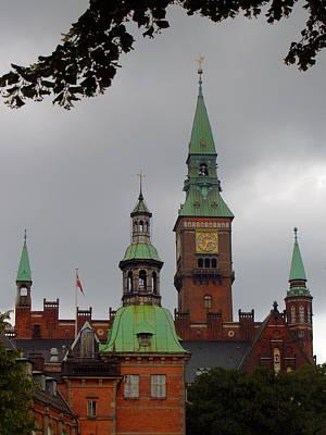 Photograph - Kopenhavn Denmark Tivoli Gardens 03 by Jeff Brunton