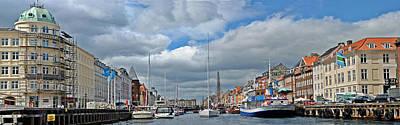 Photograph - Kopenhavn's Ny Havn Pan by Jeff Brunton