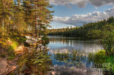 Koppom Sweden Art Print by Caroline Pirskanen