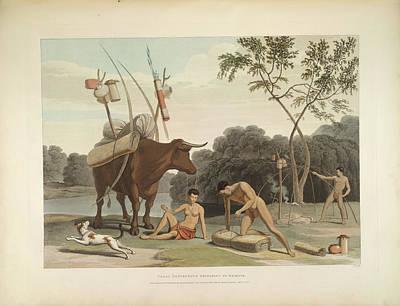 Korah Hottentots Art Print by British Library