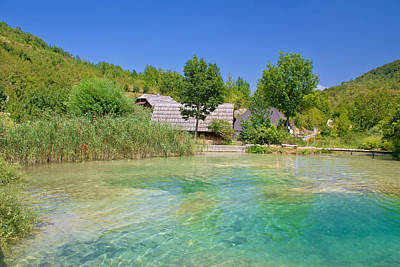 Photograph - Korana Village In Plitvice Lakes by Brch Photography