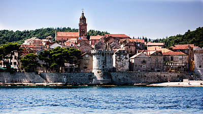 Photograph - Korcula From The Sea by Weston Westmoreland