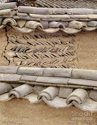 Photograph - Korean Village Photograph - Mud Wall by Sharon Hudson