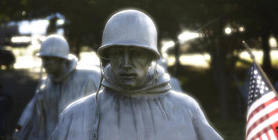 Photograph - Korean War Soldier 2 by Nicola Nobile