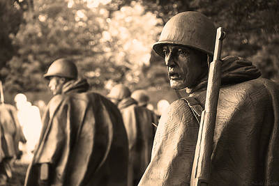 Photograph - Korean War Soldier by Nicola Nobile