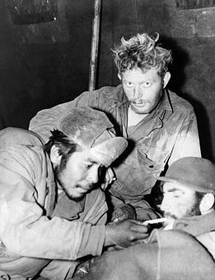 Paul Nash Photograph - Korean War Soldiers, 1951 by Granger