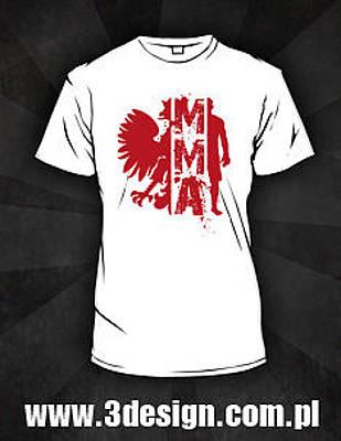 Knockout Mixed Media - Koszulka Mma by Boschman Boschman