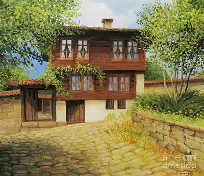 Restore Painting - Kotel The Ethnographic Museum by Kiril Stanchev
