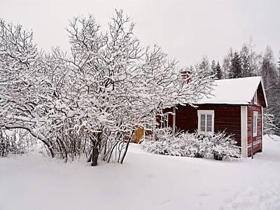 Jouko Lehto Royalty-Free and Rights-Managed Images - Kovero Farm by Jouko Lehto