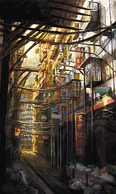 Painting - Kowloon by Anthony Christou