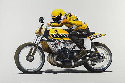Motogp Painting - Kr Tz750 Indy by John Savage