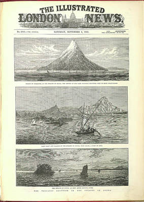 Krakatoa Art Print