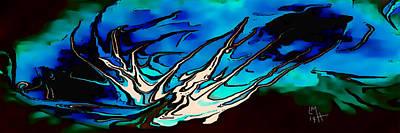 Digital Art - Kraken by Mickey Harris
