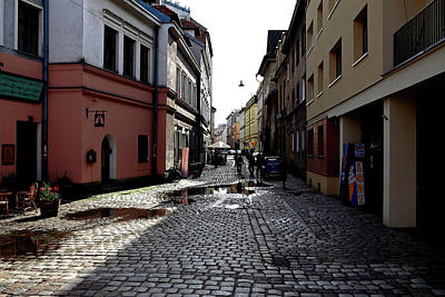 Photograph - Krakow Backstreets by Tony Brown