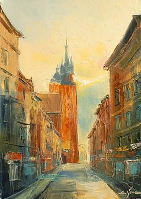 Krakow Florianska Street Art Print