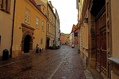 Photograph - Krakow Street  by Tony Brown