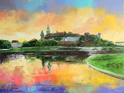 Krakow - Wawel Castle Art Print