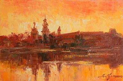 Krakow - Wawel Impression Art Print