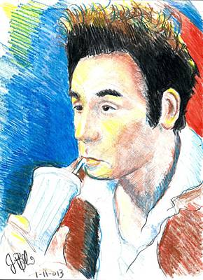 Kramer  Art Print by Jon Baldwin  Art