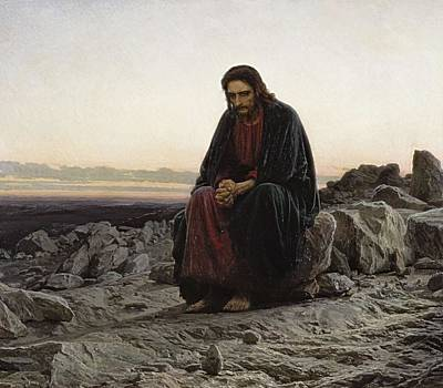 Realist Photograph - Kramskoi, Ivan Nikolaevich 1837-1887 by Everett