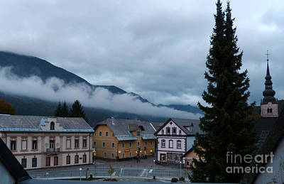 Photograph - Kranjska Gora - Autumnal Evening by Phil Banks