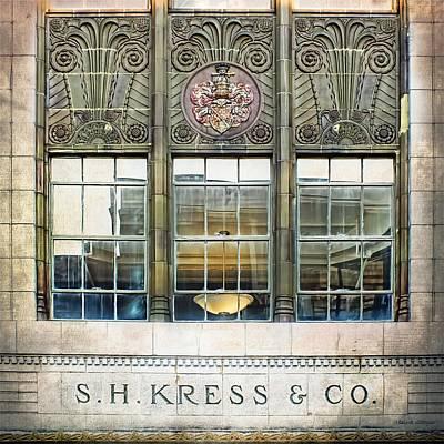 Kress Art Deco Window Art Print