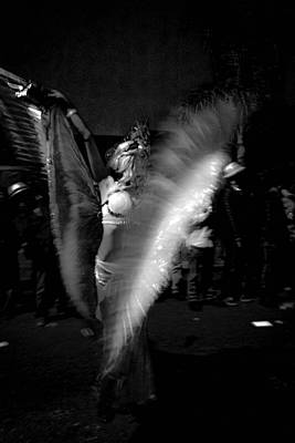 Photograph - Krewe Delusion Parade Night Dancer by Louis Maistros