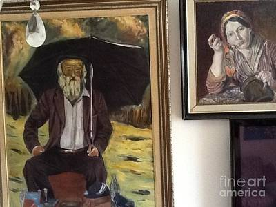 Coller Painting - Kriif by Arie Krief