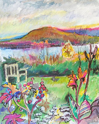 Painting - Kripalu View by Linda Novick