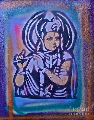 Conscious Painting - Krishna 2 by Tony B Conscious