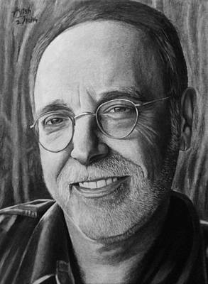 Drawing - Krishna Das by Vishvesh Tadsare