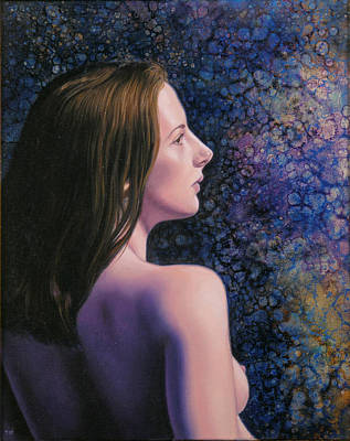 Wall Art - Painting - Krista by Miguel Tio