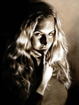 Kristy By Edward Pollick Art Print