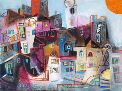 Painting - Krk by Miljenko Bengez